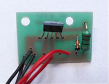 2节草坪灯控制板
